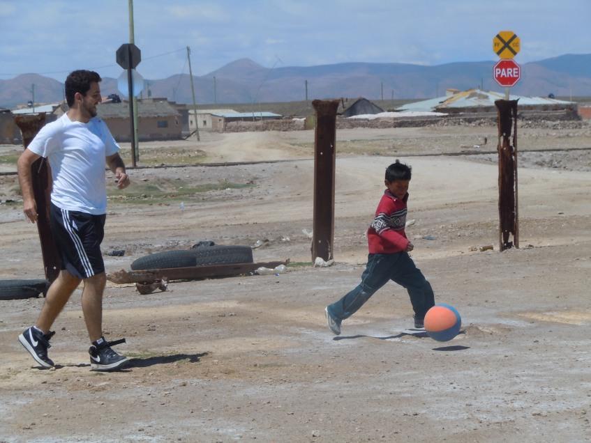 Futebol em Uyuni, Bolívia