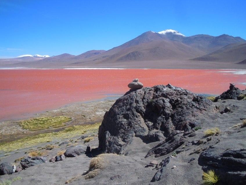 Laguna Colorada, Bolívia. Foto: Guilherme Mendes Thomaz