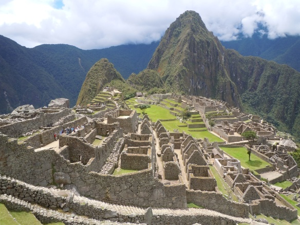Machu Picchu e Waynapicchu (ao fundo), Peru