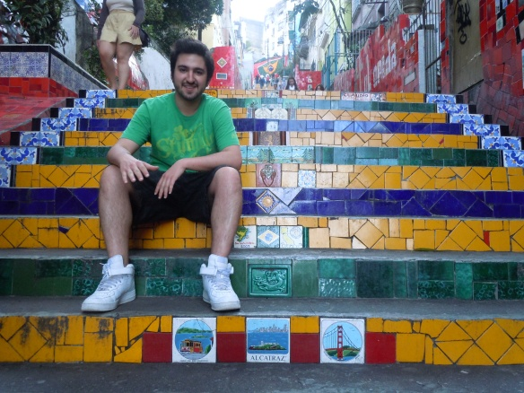Escadaria Selaron, Lapa - Rio de Janeiro, Brasil
