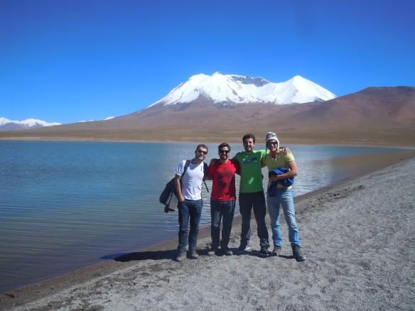 Pedro, Guilherme, Murilo e Gabriel.
