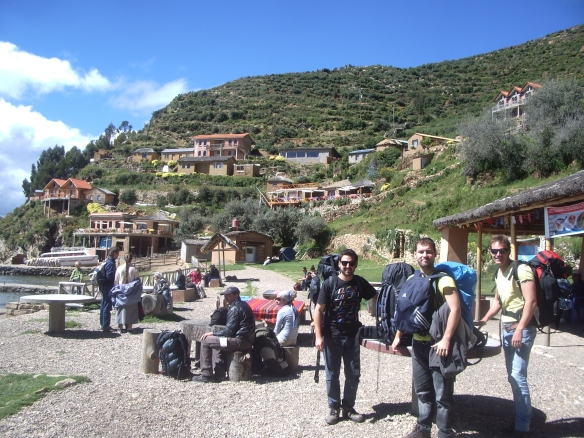 Isla-del-Sol-Bolivia-Lago-Titicaca-Copacabana-Chegada