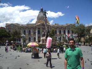 Plaza-Murillo-La-Paz-Bolivia