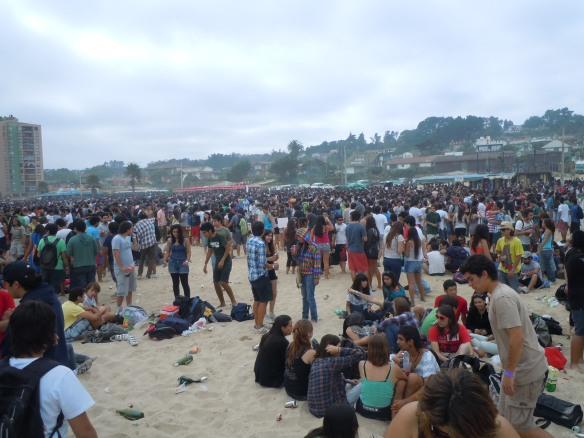 Festa-Universidad-Catolica-Praia-Santiago-Chile